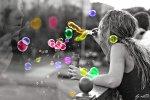 Вчера в Петербурге прошел фестиваль мыльных пузырей