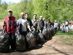 Сегодня проходит глобальная уборка территорий