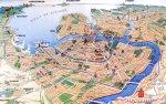 Необычную карту города выпустили краеведы Владимир Валдин и Алексей Ерофеев.