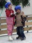 В Петербурге открыты зоны отдыха: катки и лыжные трассы