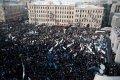 Прошел митинг в поддержку сквера братьев Стругацких