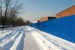 Петербуржцам надоел синий забор на проспекте Ветеранов