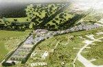 На территории парка планируется построить 71 коттеджный домик