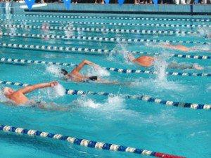 Ветераны приняли участие в соревнованиях по плаванию, которые состоялись в городе Санкт-Петербурге