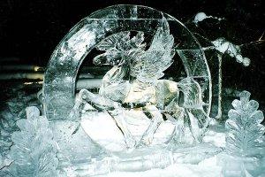 Что можно увидеть на фестивале ледовой скульптуры