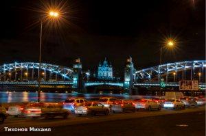 Разведение мостов в Петербурге запланировали на 6 марта ночью