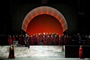 Театр «Астана Опера» проводит гастроли театра в Санкт-Перебурге