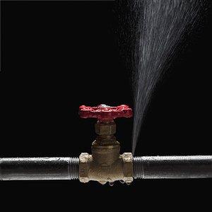В Колпино произошел прорыв трубы с горячей водой