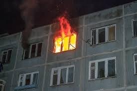 Вчера вечером горел дом, в котором ранее проживал Довлатов