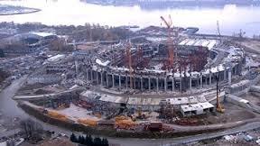 """""""Газпром-арена"""" построена на 65 процентов"""