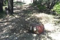 В Колпинском районе обнаружили бочки с особо опасным веществом