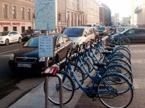 Сегодня жители Санкт-Петербурга смогут взять велосипед за 1 рубль