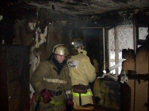 Вчера вечером в центре Петербурга горела коммуналка