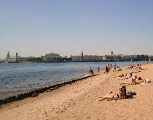 На пляже Петропавловской крепости открывается выставка песчаных фигур