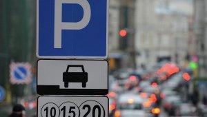 За первый день работы платной парковки городской бюджет пополнился на 500 тысяч
