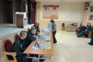 В Колпинской воспитательной колонии состоялось открытие шахматного клуба
