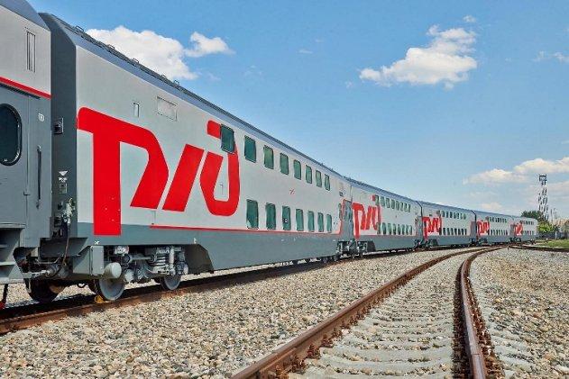 Двухэтажные поезда между Петербургом и Адлером начнут ежедневно ходить с 1 октября