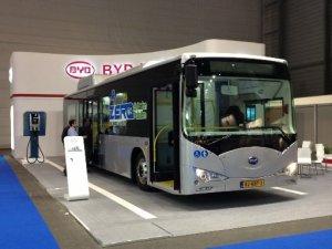 В Петербурге обкатают китайский электробус