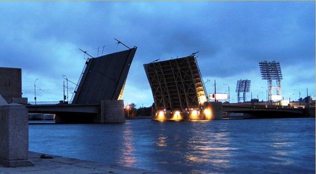 Начался ремонт Тучкова моста