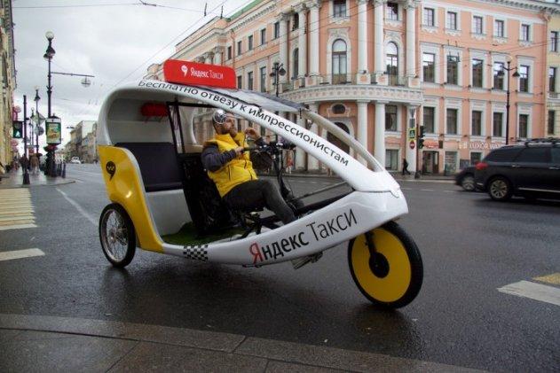 В Петербурге появились велокэбы
