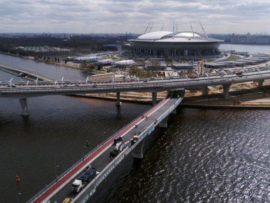 Яхтенный мост стал доступен для пешеходов