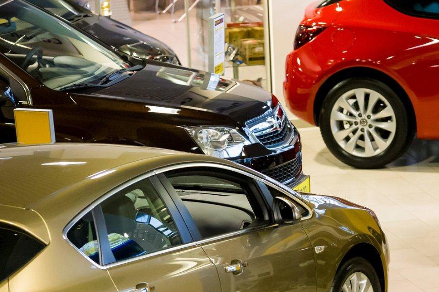 В Петербурге растут продажи автомобилей