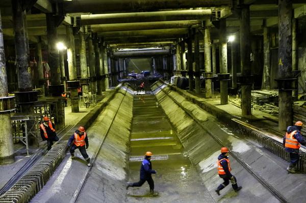 Шестое депо заработает в Петербурге на полгода позже